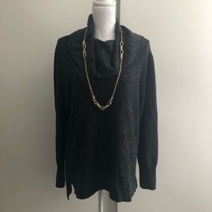 🆕Listing: DKNY Jeans Gray cowl neck sweater